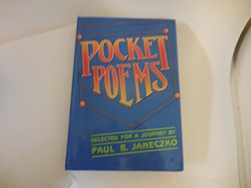 9780027478204: Pocket Poems
