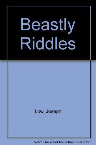 9780027613803: Beastly Riddles