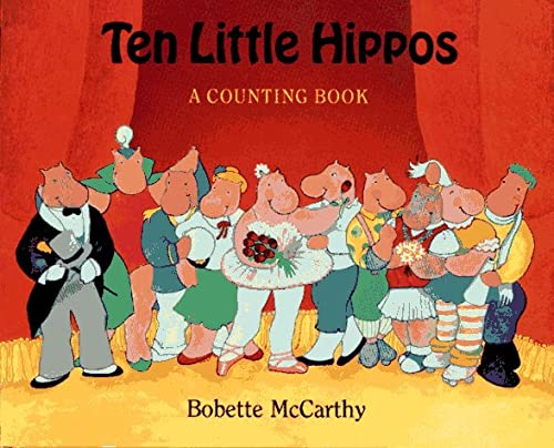 Ten Little Hippos (0027654451) by Mccarthy