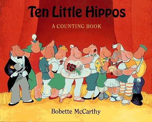 9780027654455: Ten Little Hippos