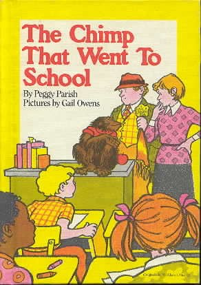 9780027698008: The Chimp That Went to School