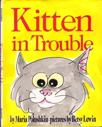 9780027747409: Kitten in Trouble