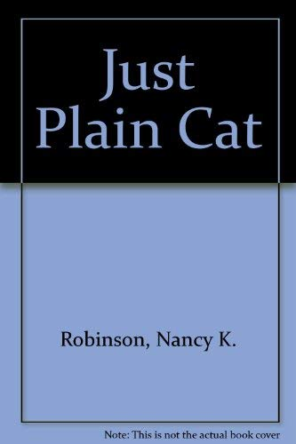 9780027773507: Just Plain Cat