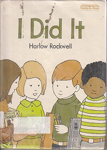 9780027775501: I did it (Ready-to-read)