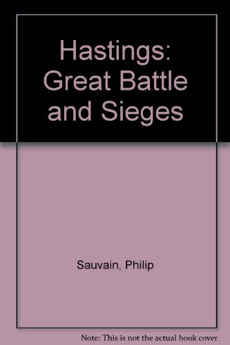 9780027810790: Hastings (Great Battle and Sieges)