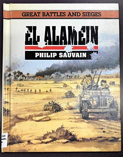 9780027810813: El Alamein (Great battles & sieges)