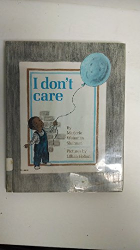 9780027822908: I Don't Care
