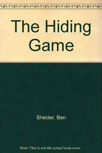 9780027827804: The Hiding Game