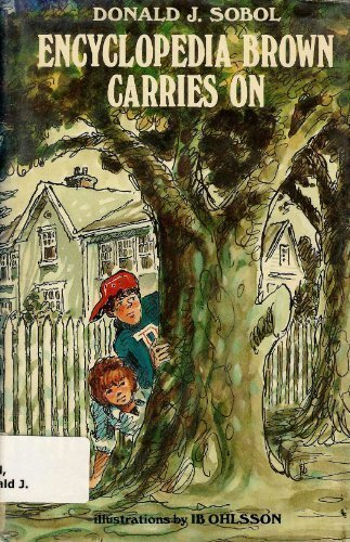 9780027861907: ENCYCLOPEDIA BROWN CARRIES ON