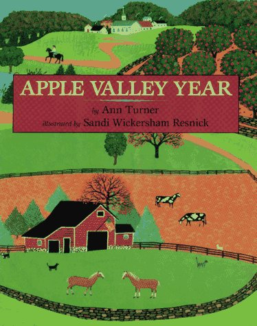 9780027892819: Apple Valley Year