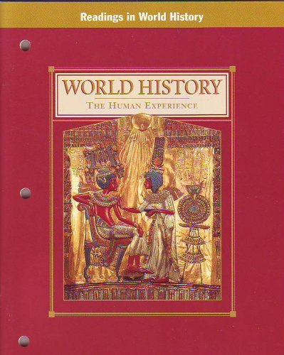 9780028002095: World History: The Human Experience: Readings in World History (TEACHER'S EDITION)