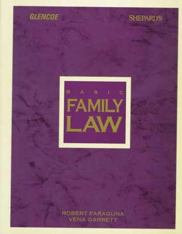 9780028002897: Basic Family Law (Legal Studies Series)