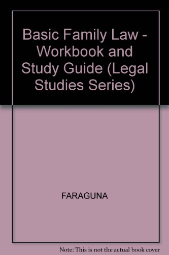 9780028002927: Basic Family Law (Legal Studies Series)