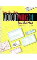 9780028003245: Step-By-Step Microsoft Works 3.0 for the Mac/Book and Disk