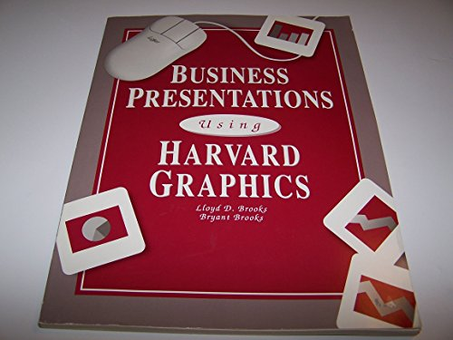 9780028004075: Business Presentations Using Harvard Graphics: With Version 3.0 Tutorial/Book and Disk