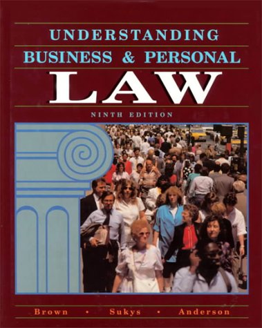 9780028006420: Understanding Business and Personal Law