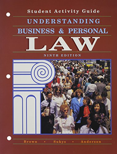 9780028006499: Understanding Business and Personal Law