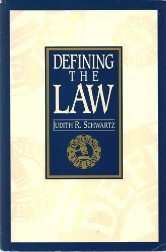 9780028007458: Defining the Law