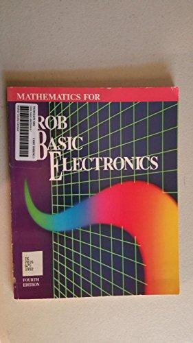 9780028007687: Mathematics for Grob Basic Electronics