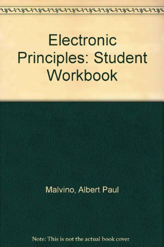 9780028008509: Electronic Principles: Student Workbook