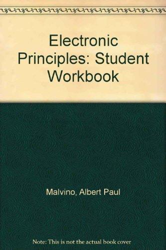Electronic Principles - WORKBOOK: Malvino, Albert Paul