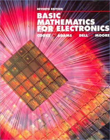 9780028008530: Basic Mathematics for Electronics