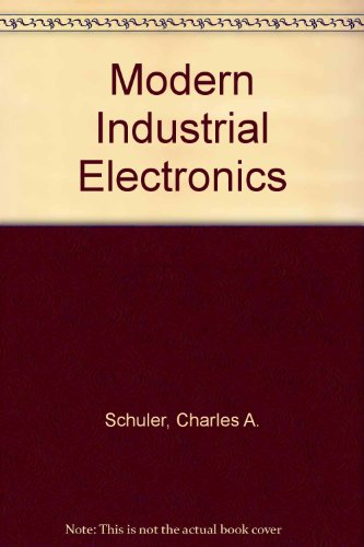 9780028008622: Modern Industrial Electronics