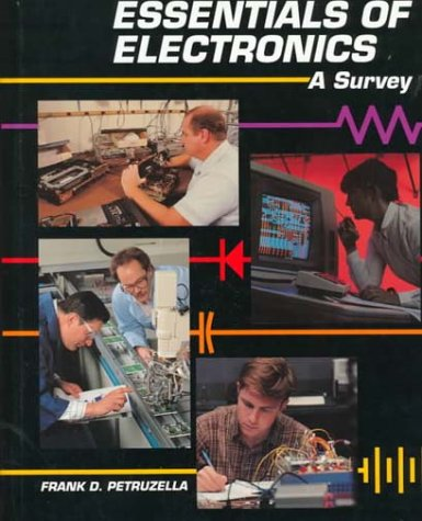 Essentials of Electronics 9780028008936 This highly illustrated text, activities manual, and instructor's guide package is designed for use in a survey of electronics course for non-majors. Its wide coverage includes the areas of DC/AC, devices, digital, and microprocessors.