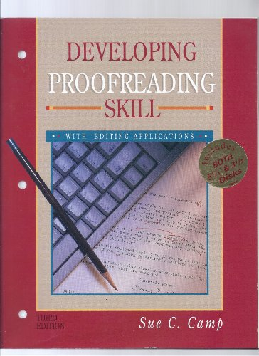 9780028008974: Developing Proofreading Skills