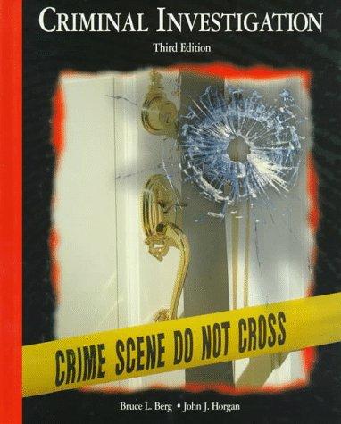 9780028009285: Criminal Investigation