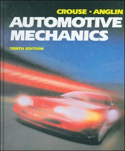 Automotive Mechanics: William H. Crouse;