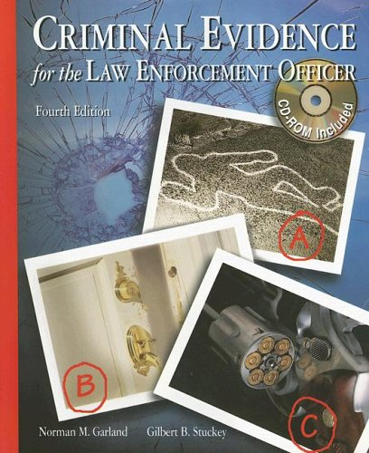 9780028009667: Criminal Evidence for the Law Enforcement Officer with CDROM