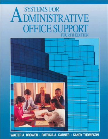 9780028010250: Systems for Administrative Office Support