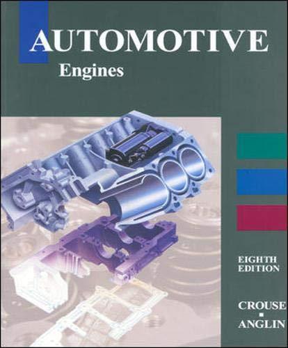 9780028010991: Automotive Engines