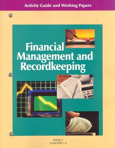 9780028011066: Financial Management and Recordkeeping: Activity Guide and Working Papers I