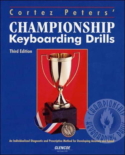 9780028011998: Cortez Peters' Championship Keyboarding Drills