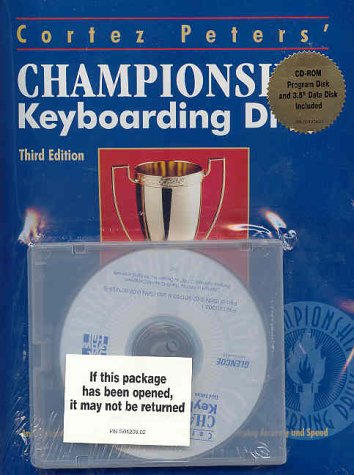 9780028012094: CD-Rom/Data Disk to Accompany Cortez Peters Championship Keyboarding Drills