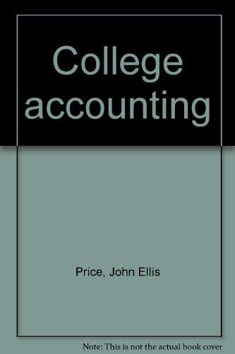 9780028014425: Title: College accounting
