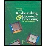 9780028017365: Greg Coll Keyb & DOC Proc Inte Txt 1-120