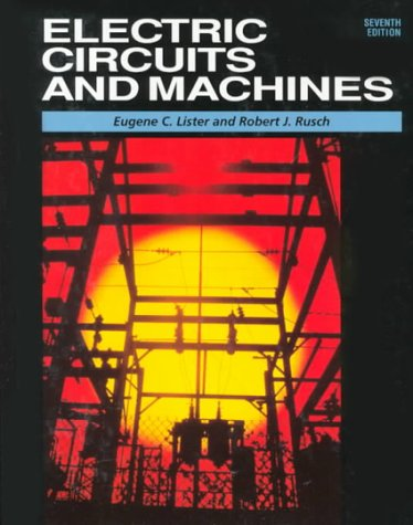 9780028018096: Electric Circuits and Machines