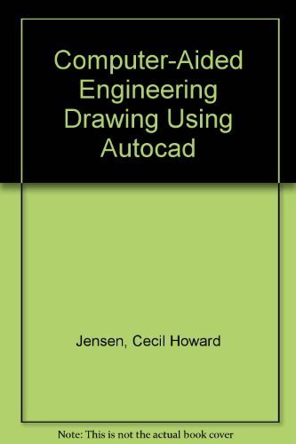9780028018737: Computer-Aided Engineering Drawing Using Autocad