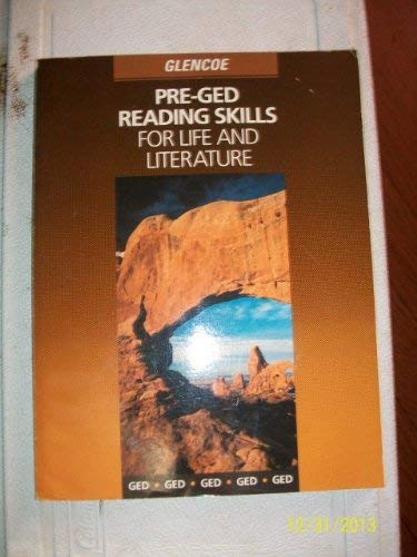 9780028020679: Pre Ged Reading Skills for Life and Literature