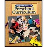 9780028020969: Approaches to Preschool Curriculum