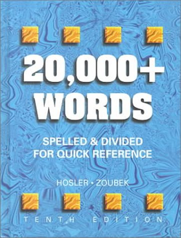 9780028021584: 20,000+ Words: Spelled and Divided for Quick Reference