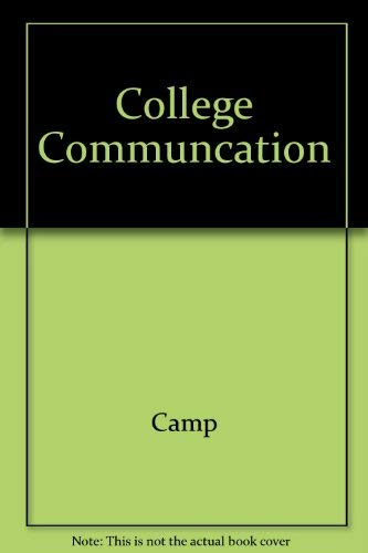 9780028021713: College Communcation