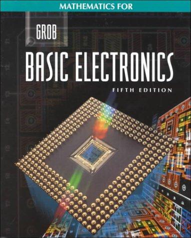 9780028022543: Mathematics for Grob Basic Electronics