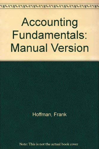 9780028024745: Accounting Fundamentals/Workbook/Study Guide/Plastic Folder
