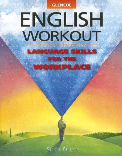 9780028028132: Glencoe English Workout: Language Skills for the Workplace