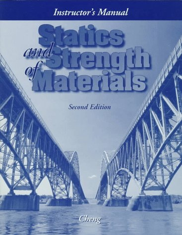 9780028030685: Statics and Strength of Materials: Instructor's Manual