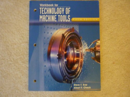 9780028030722: Technology of Machine Tools, Workbook